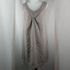 💀 Liz Lange Maternity Shift Dress Sleeveless Med